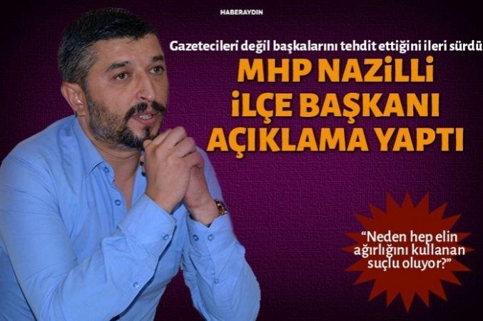 MHP İlçe Başkanı açıklama yaptı