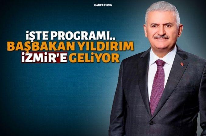 İzmirliler Başbakan Yıldırım'ı bekliyor