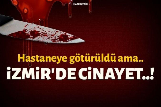İzmir'de cinayet