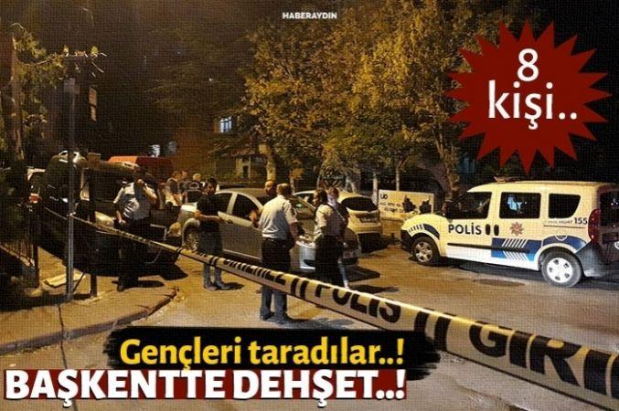 Başkent'te pompalı dehşeti: 8 yaralı