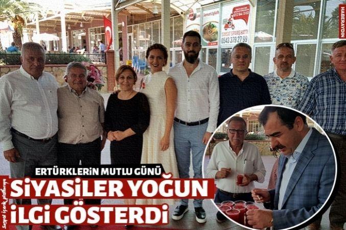 Ertürk ailesinin mutlu günü