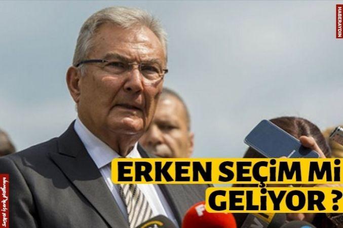 Deniz Baykal'dan 'erken seçim' iddiası