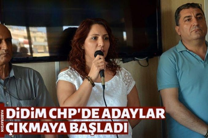 Didim CHP'de ilk aday Filiz Korkmaz oldu