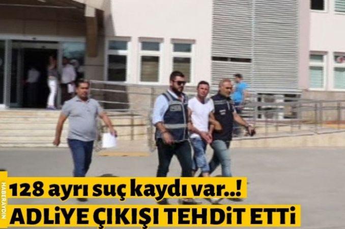 """Suç makinesinden gazetecilere ilginç ifadeler: """"Çıkışta görüşürüz seninle"""""""