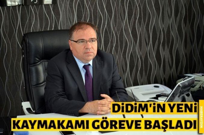 Didim'in yeni Kaymakamı Türköz göreve başladı