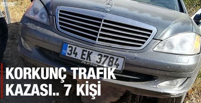 Niğde'de trafik kazası:7 yaralı