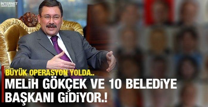 Melih Gökçek dahil 10 belediye başkanı daha değişecek!
