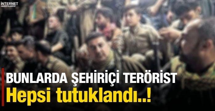 İstanbul'da gizlenen PYD/YPG ve PKK'lı 3 terörist tutuklandı
