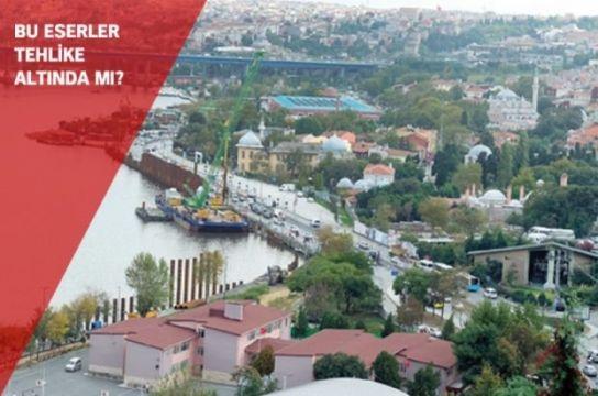 İstanbul'da tarihi dokuda kazık riski!