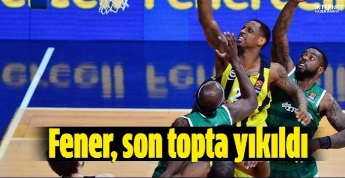 Fenerbahçe Doğuş son topta yıkıldı