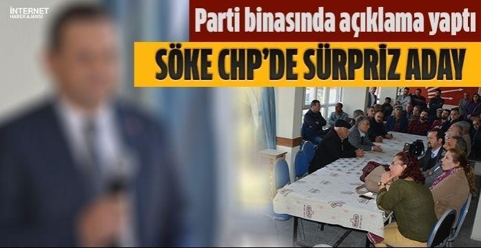 Söke CHP'de o isim adaylığını açıkladı