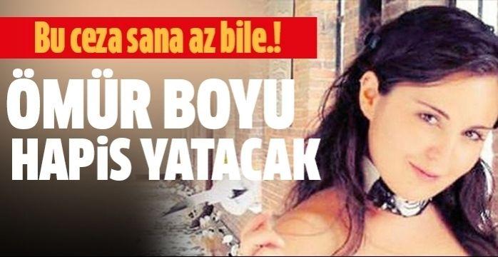 Genç kıza müebbet hapis cezası