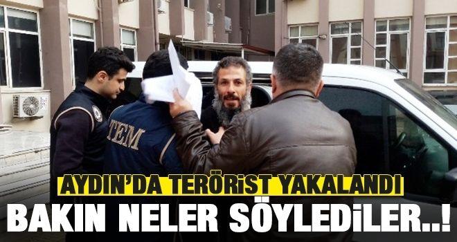 Aydın'da terörist yakalandı