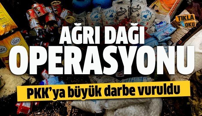 PKK'ya darbe vuruldu