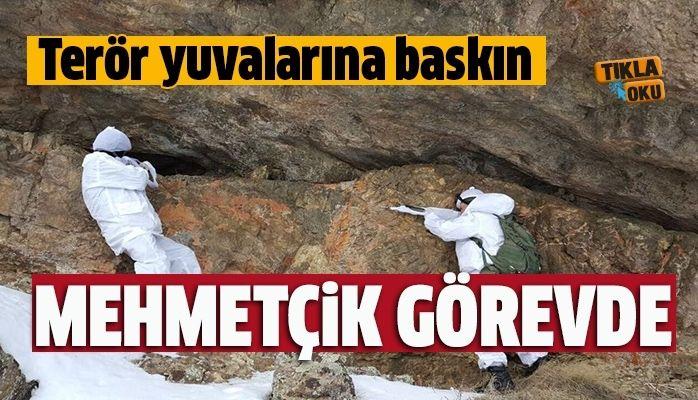 Mehmetçik görevde