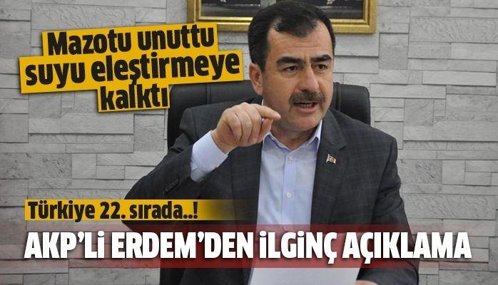 Mehmet Erdem şaşırttı