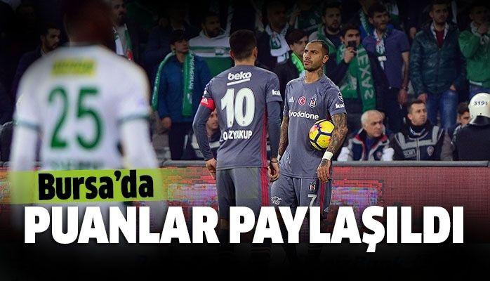 Bursaspor - Beşiktaş Maç Özeti