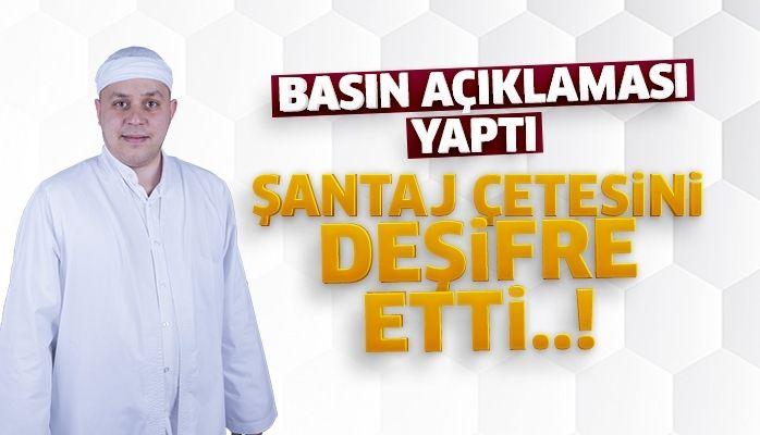 Aydınlı Mehmet Hoca basın açıklaması yaptı