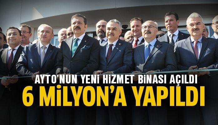 """Hisarcıklıoğlu: """"AYTO beş yıldızlı hizmet sunuyor"""""""