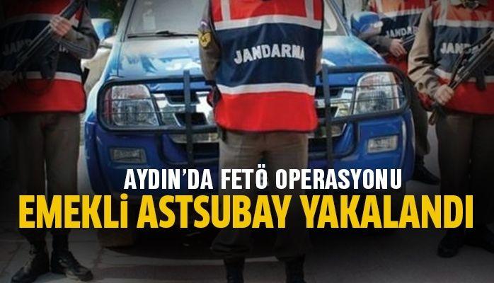 Emekli astsubay FETÖ'den gözaltına alındı