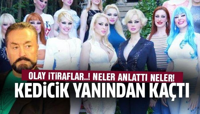 Adnan Oktar'dan kaçan kedicik Ceylan Özgül'den olay itiraflar!