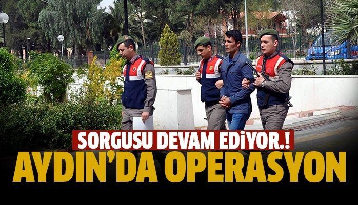Aydın'da operasyon