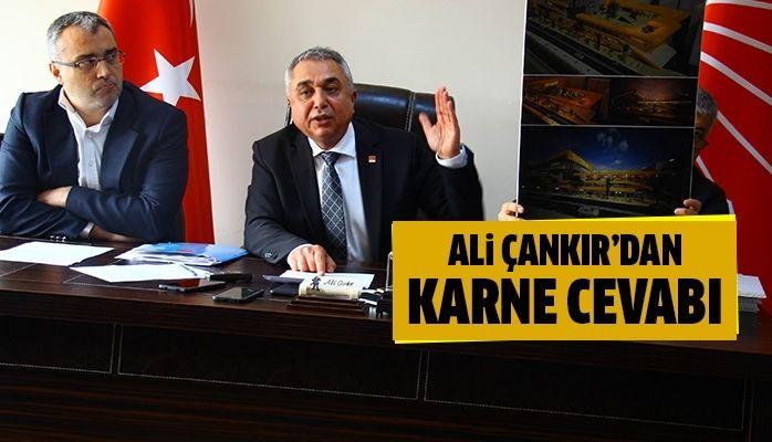 CHP İl Başkanı Çankır'dan AK Parti'ye 'Karne' cevabı