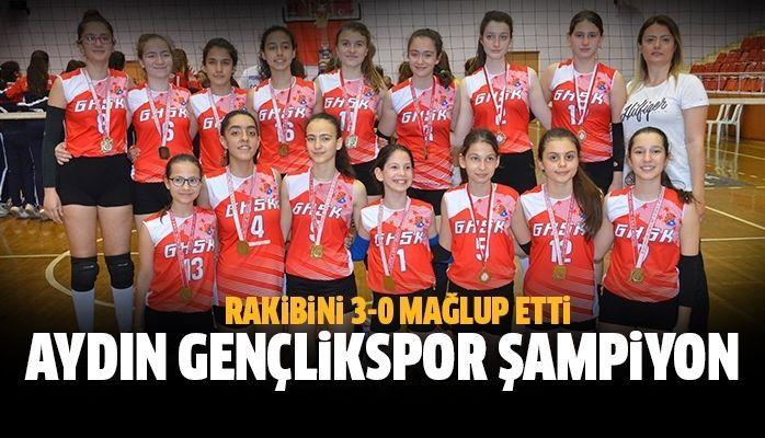 Aydın Gençlikspor şampiyon oldu