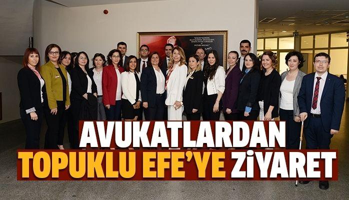 Avukatlardan Çerçioğlu'na ziyaret
