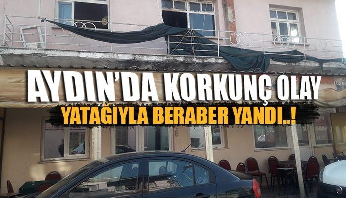 Aydın'da korkunç olay
