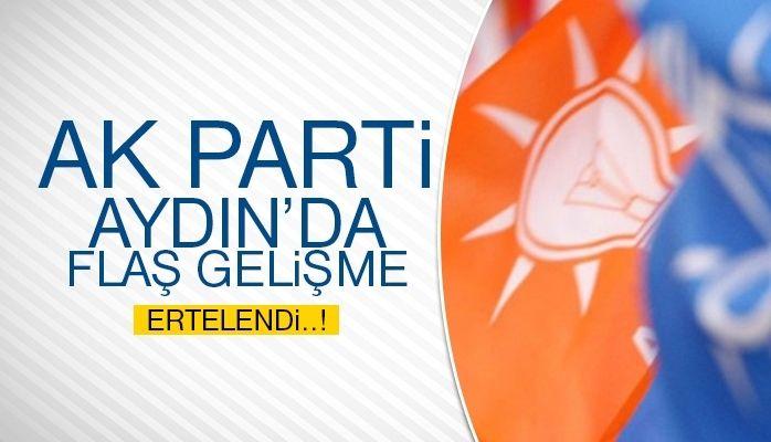 AK PARTİ Aydın'da flaş gelişme
