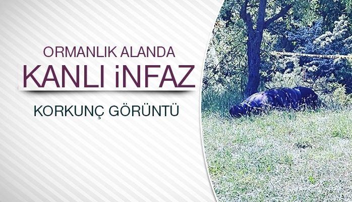 Ormanlık alanda kanlı infaz