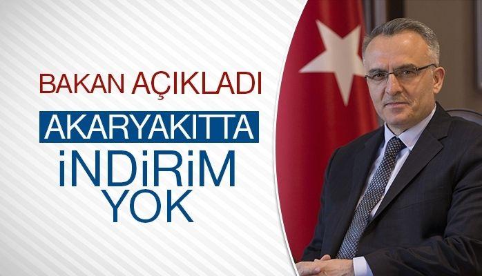 Bakan Ağbal'dan akaryakıtta ÖTV açıklaması
