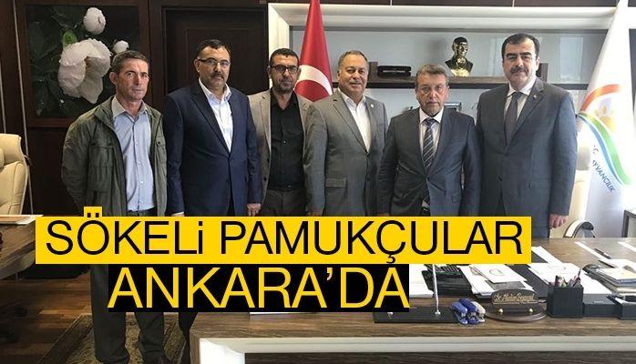 Sökeli pamukçular Ankara'da