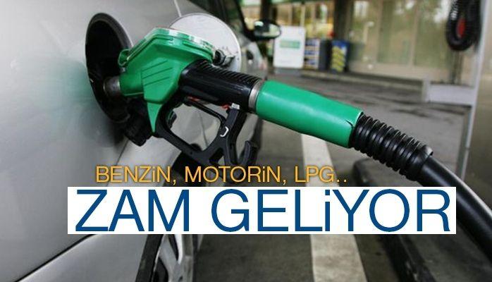 Benzin, motorin, lpg..