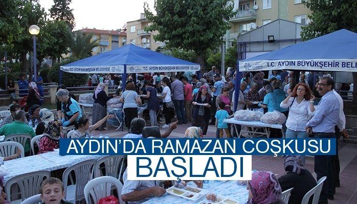 Aydın'da Ramazan coşkusu başladı