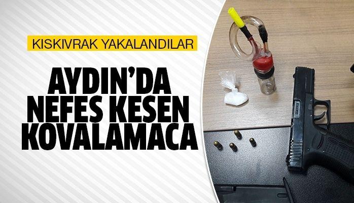 Aydın'da yakalandılar