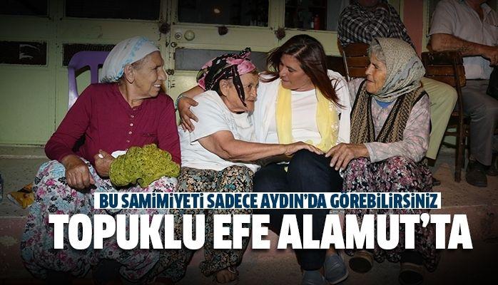 BAŞKAN ÇERÇİOĞLU ALAMUT'U ZİYARET ETTİ