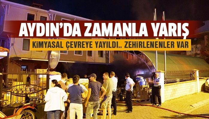 Aydın'da zamanla yarış