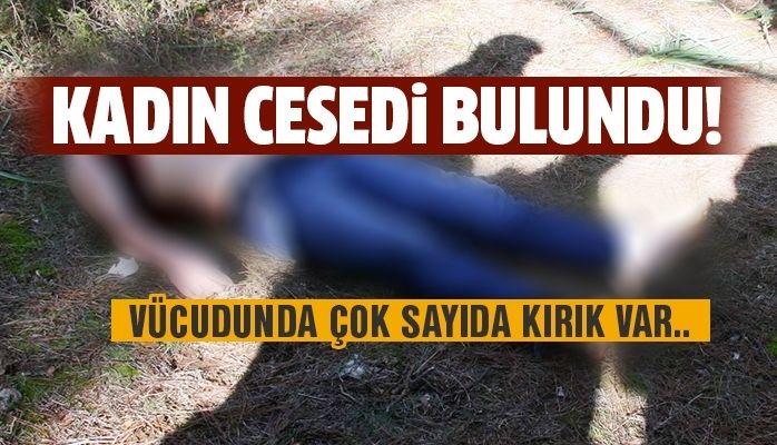 Kadın cesedi bulundu