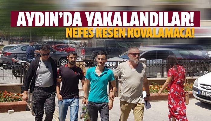 Aydın'da yakalalandılar
