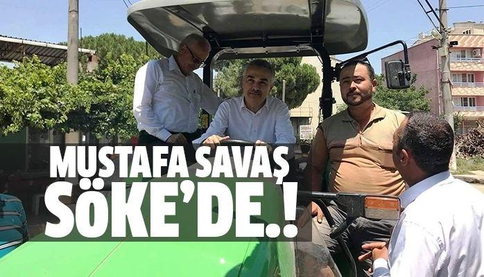 Mustafa Savaş Söke'de