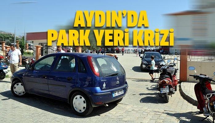 Aydın'da park yeri krizi
