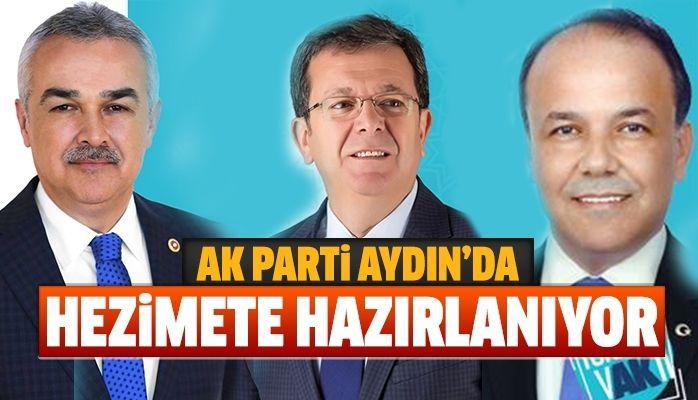 AK Parti Aydın'da hezimete hazırlanıyor