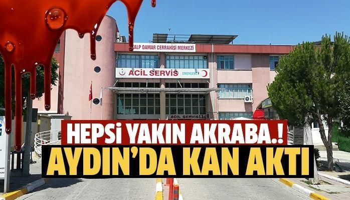 Aydın'da kan aktı