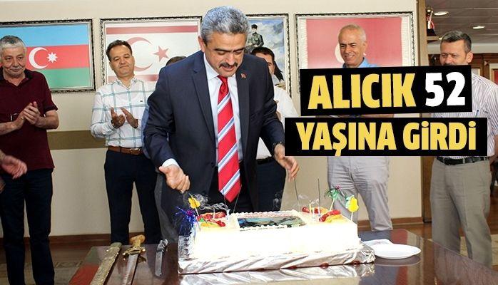 Başkan Alıcık'a sürpriz doğum günü
