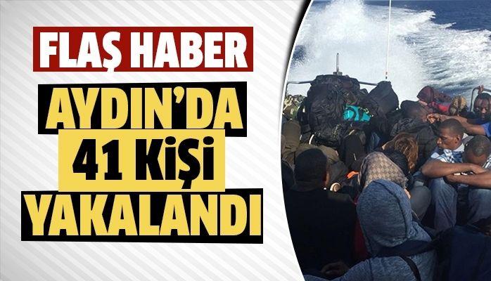 Aydın'da 41 kişi yakalandı