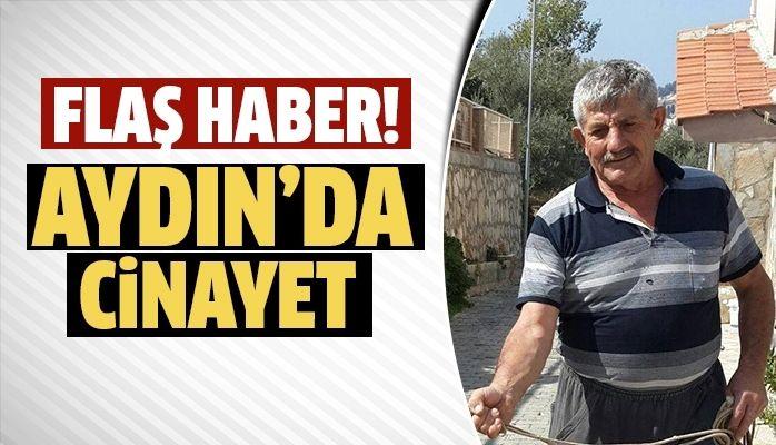 Aydın'da cinayet