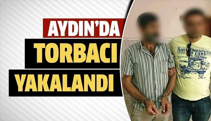Aydın'da torbacı yakalandı
