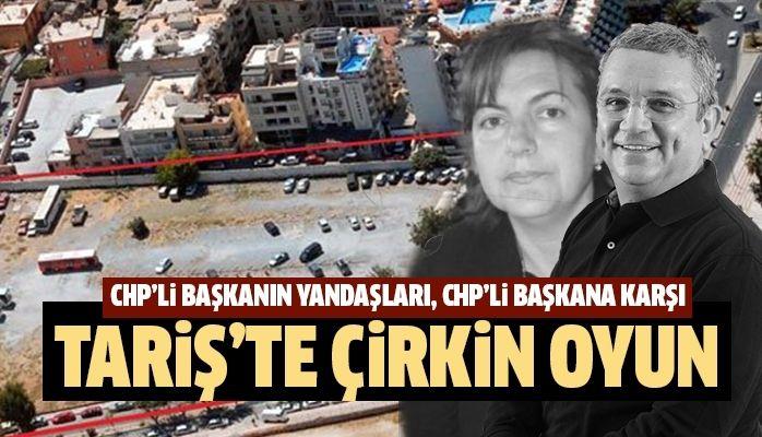 CHP'li Başkanın yandaşları, CHP'li başkana karşı
